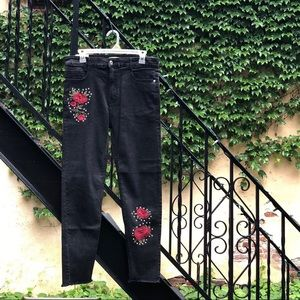 BRAND NEW Forever 21 Black High Rise Ankle Jeans